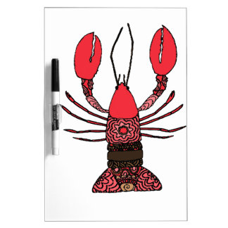 Lobster Dry Erase Board