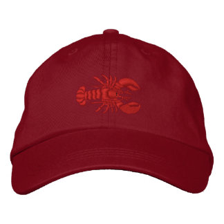 Lobster Embroidered Baseball Caps