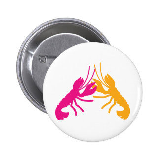 lobster fight 2 inch round button