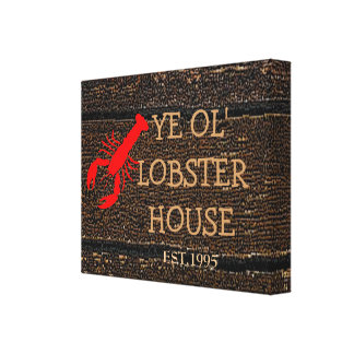 Lobster House Canvas Print