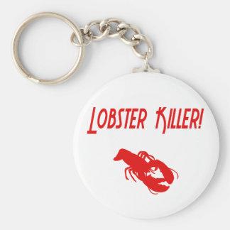 Lobster Killer 2 Basic Round Button Keychain