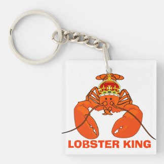 Lobster King Keychain