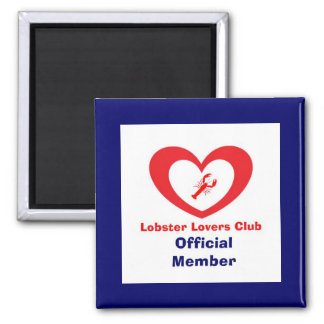 Lobster Lovers Club - Official Member Magnet