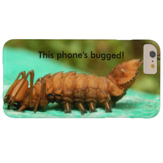 Lobster Moth Caterpillar Bugged iPhone Case