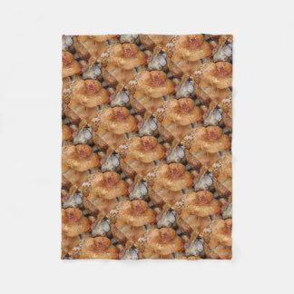 Lobster Mushrooms Fleece Blanket