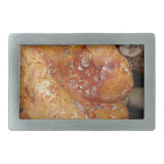 Lobster Mushrooms Rectangular Belt Buckle