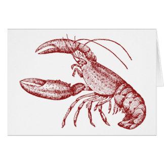 Lobster Notecards Card