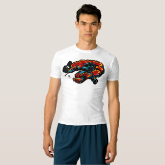 Lobster Octopus MMA rashguard T-shirt