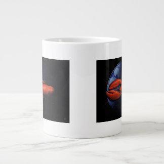 Lobster on Tiffany Plate Large Coffee Mug