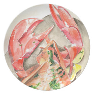 Lobster Party Plate
