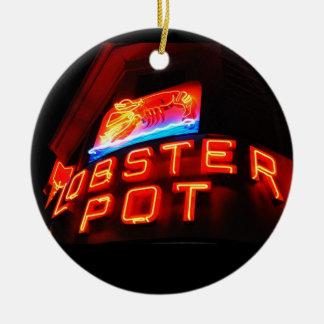 Lobster Pot Ornament Ptown
