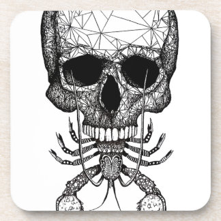 Lobster Skull Coaster