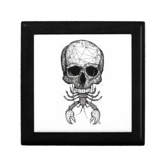 Lobster Skull Gift Box