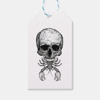 Lobster Skull Gift Tags
