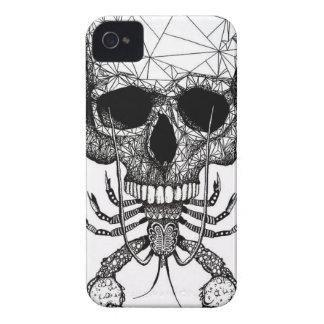 Lobster Skull iPhone 4 Case