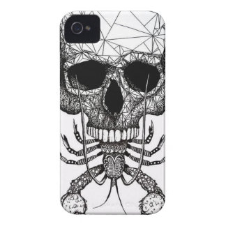 Lobster Skull iPhone 4 Covers