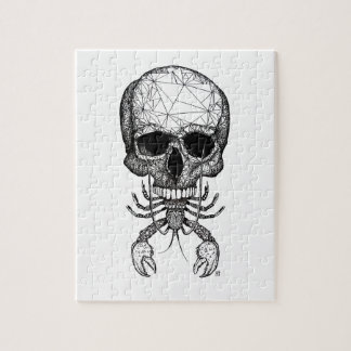 Lobster Skull Jigsaw Puzzle