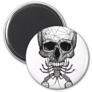 Lobster Skull Magnet