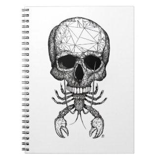 Lobster Skull Notebooks