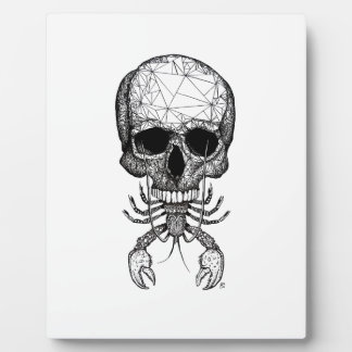 Lobster Skull Plaque