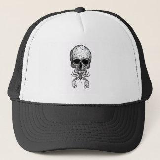 Lobster Skull Trucker Hat