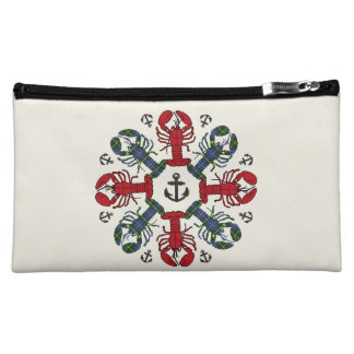 Lobster Snowflake Anchor N.S. Christmas cosmetic Cosmetic Bag