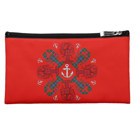 Lobster Snowflake Anchor N.S. Christmas cosmetic Makeup Bags