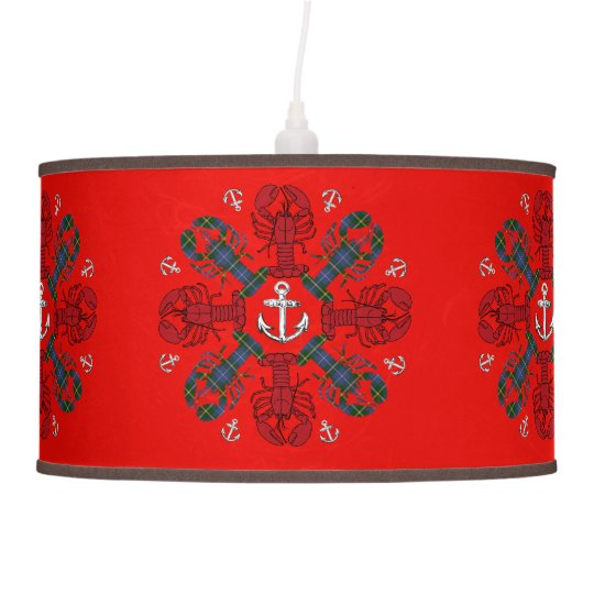 Lobster Snowflake Anchor N.S. Christmas lamp
