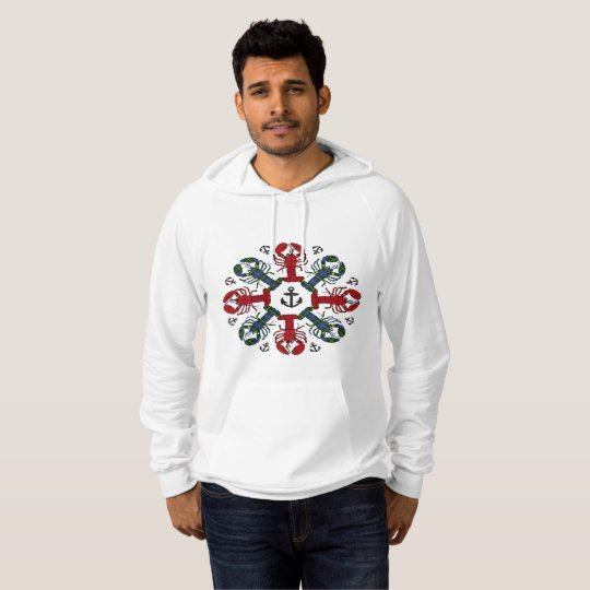 Lobster Snowflake Anchor N.S.Christmas ugly shirt