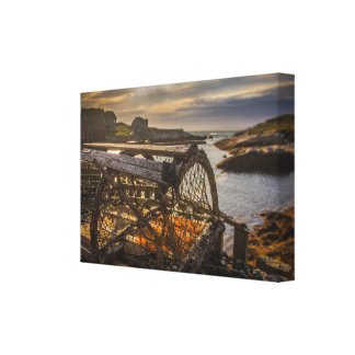 Lobster Trap at Peggy's Cove, Nova Scotia, Canada Canvas Print