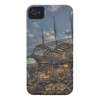 Lobster Traps and Tall Ship Masts Blackberry Cases