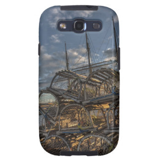 Lobster Traps and Tall Ship Masts Galaxy S3 Case