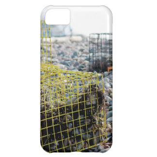 Lobster Traps on Rocky Beach iPhone 5C Cases