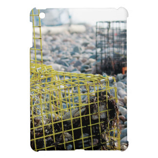 Lobster Traps on Rocky Beach iPad Mini Case