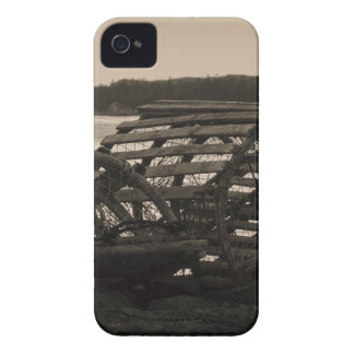 Lobster Traps Sepia Case-Mate iPhone 4 Case