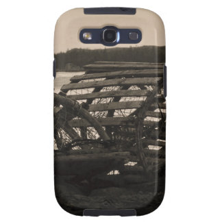 Lobster Traps Sepia Samsung Galaxy SIII Covers