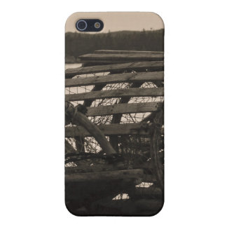 Lobster Traps Sepia iPhone 5 Case