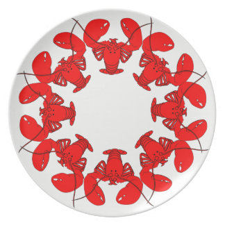Lobsters Plate