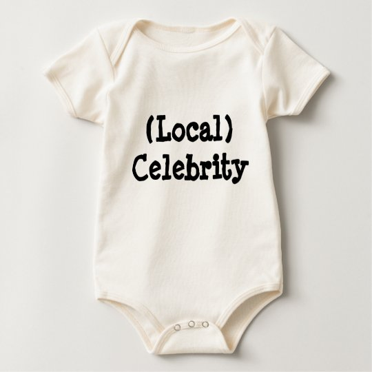 Local Celebrity Baby Bodysuit
