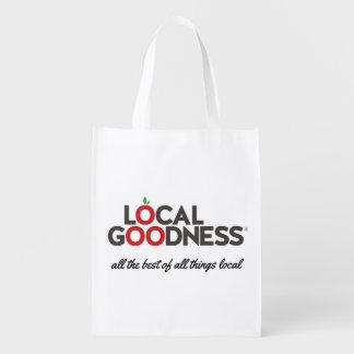 Local Goodness - Reusable Shopping Bag Market Totes