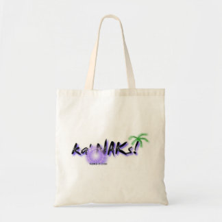 Local Hawaiian Style Tote Bag: Ka' NAKs