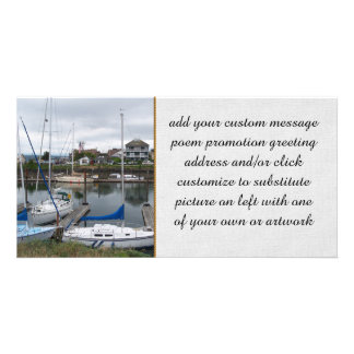 Local Moorage Photo Card Template