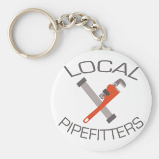 Local Pipefitters Keychain