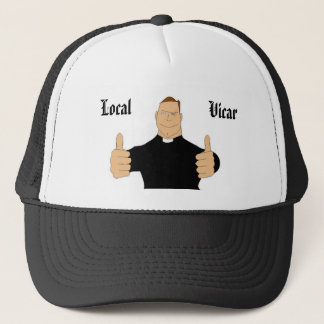 , Local, Vicar Trucker Hat