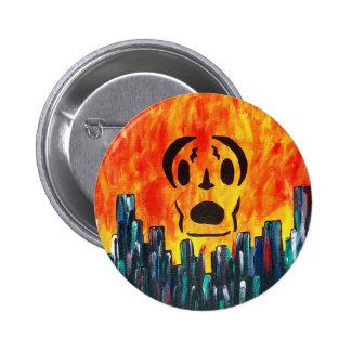 Localmusicplay.com Fire City 2 Inch Round Button