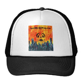 Localmusicplay.com Fire City Trucker Hat