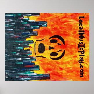 Localmusicplay.com Poster Fire City