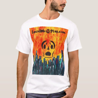 Localmusicplay.com Shirt. Fire City T-Shirt