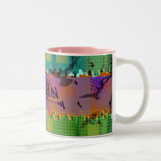 Localpigeon Billboards Two-Tone Coffee Mug