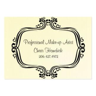 Locations artiste de maquillage Cheris Homchick Cartes De Visite Personnelles